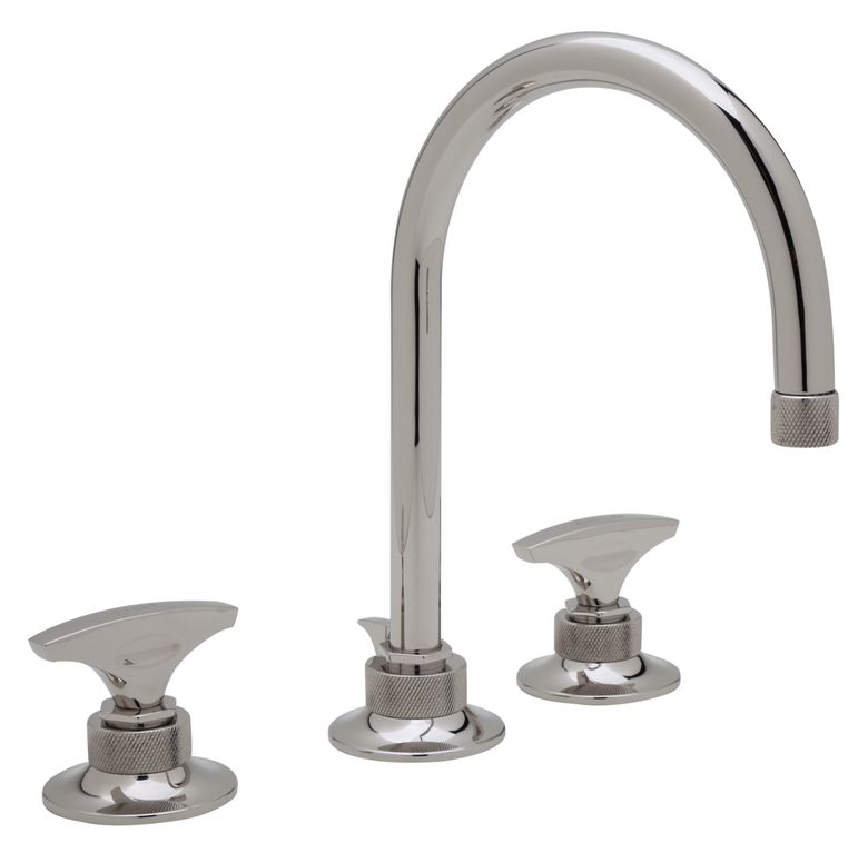 Michael Berman Graceline Lavatory Faucet with Metal Dial Handles