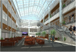 Wake Forest Biotechnology Place interior 2