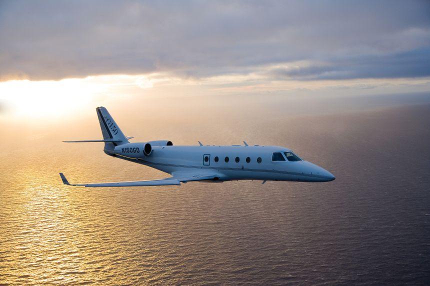 Gulfstream G150 Aerial 190