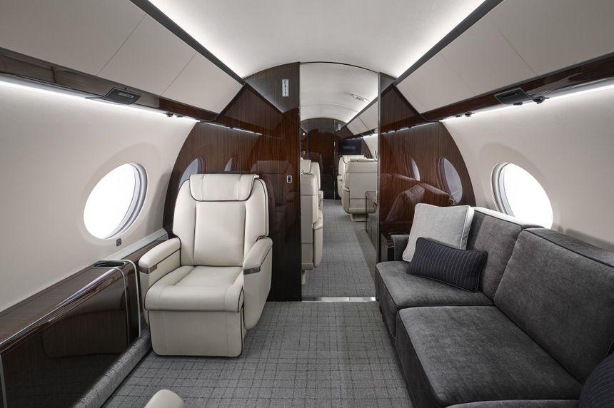 Gulfstream G650ER Interior 0018