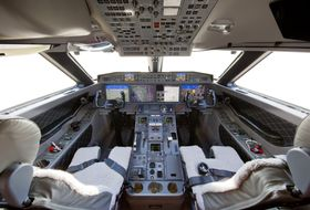 G650ER Flight Deck