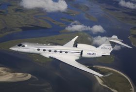 G500 Flight Test Aerial