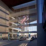 Murmuration uses Mediamesh - Long Beach Courthouse - Long Beach, California