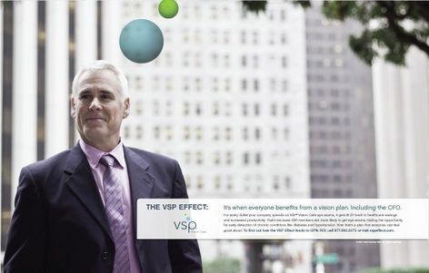 The VSP Effect B2B Campaign Ad