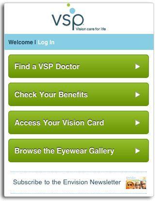 vsp.com mobile - Homepage