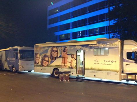 Mobile clinics SeeZar and Eyenstein deploy to East Coast
