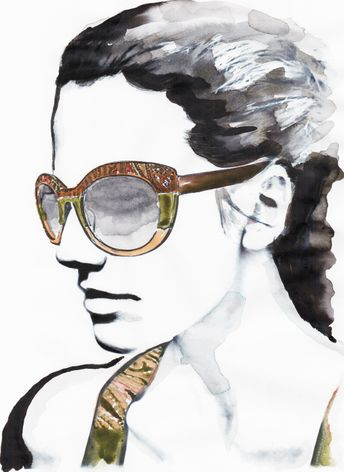 Etro Eyewear illustrated by Ivo Bisignano