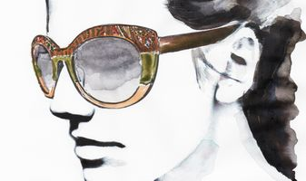 Etro Eyewear illustrated by Ivo Bisignano