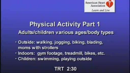 Physical Activity pt 1 QT