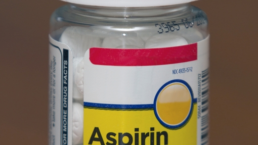 Aspirin Bottle 325 mg Dose