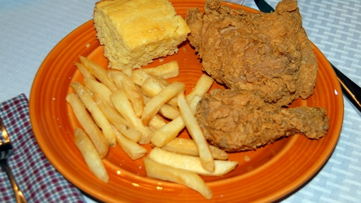 Fried Chicken Dinner (2)