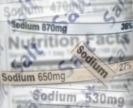 Sodium Labels
