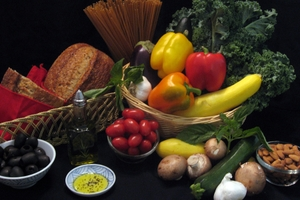 Mediterranean Diet - assorted foods