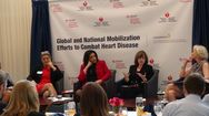 Panel discusses global heart disease