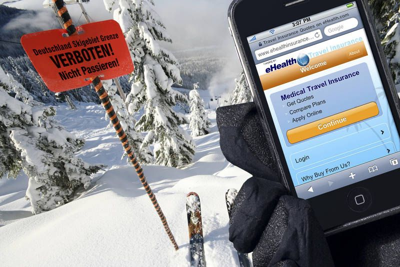 eHealth Travel ski