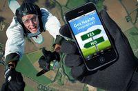 eHealth Mobile App Skydiving
