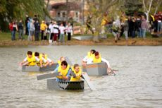 Homecoming Cardboard Boat Race