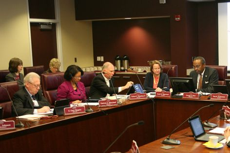CMU Board of Trustees meeting