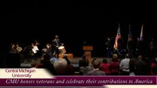 CMU Veterans Day ceremony