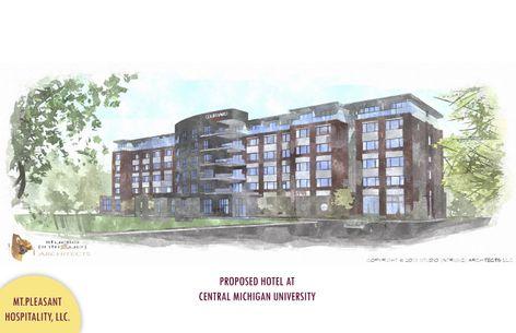 CMU NE Rendering of Hotel