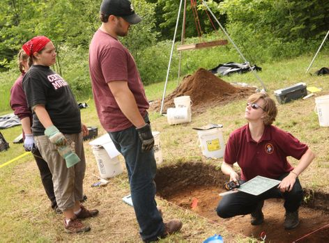 Archeology at historic McGulpin Point Lighthouse
