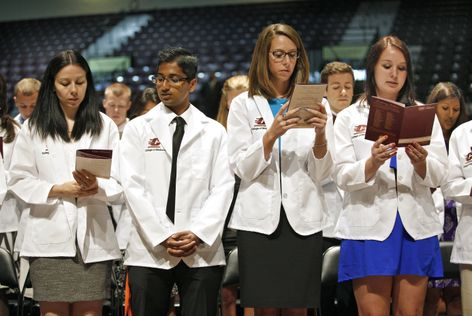 College of Medicine White Coat Ceremony