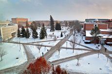 CMU Winter scenics