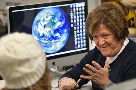 CMU faculty member Betsy Rau
