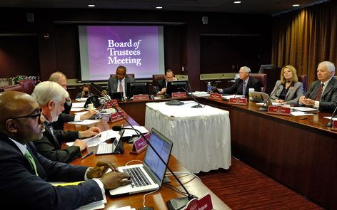 CMU Board of Trustees May 2014 meeting