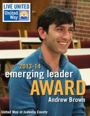 United Way Emerging Leader Andrew Brown