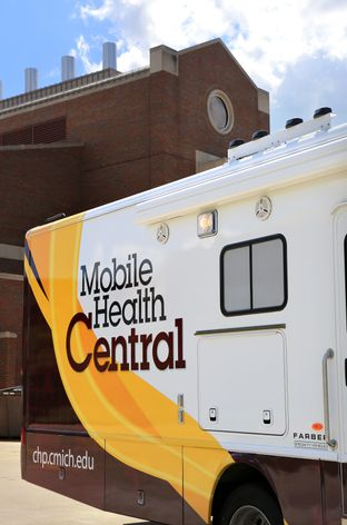 Mobile Health Central right side view
