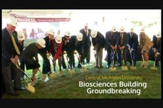 CMU Biosciences Building groundbreaking