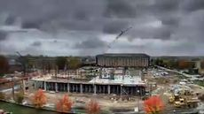 Time lapse of Biosciences Building Construction