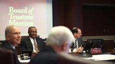 CMU Board of Trustees Meeting February 2015