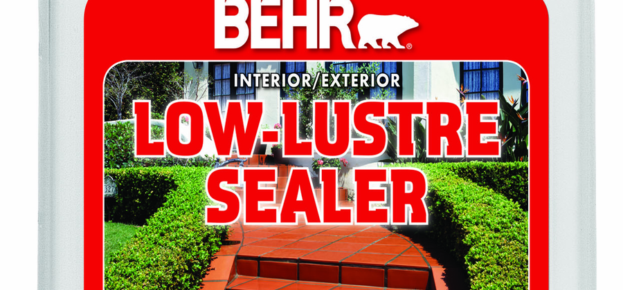 Behr Offers a New Low-Sheen Sealer to Protect and Enhance Interior and