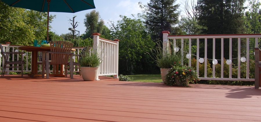 BEHR DECKOVER Solid Color Coating Country Patio