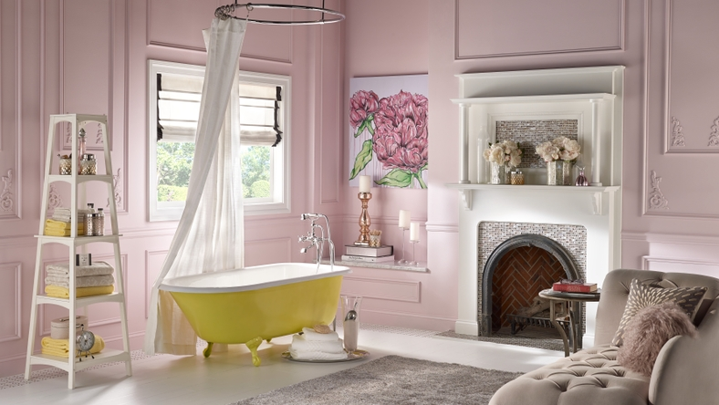 BEHR Paints Frosted Pastels Bath