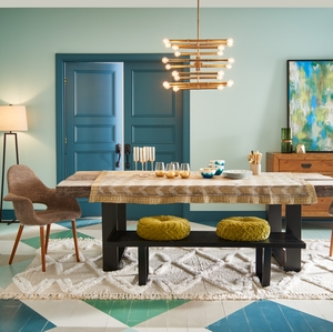 Dining Room, Composed Palette