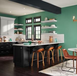 Kitchen, Confident Palette