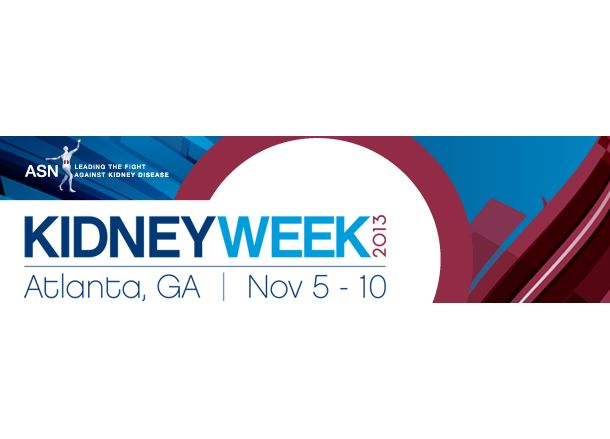ASN Kidney Week 2013