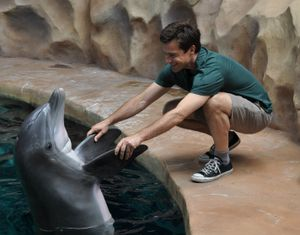 Jason Bateman at Georgia Aquarium