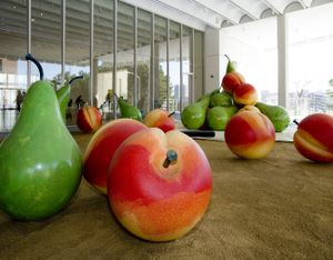 Peaches and Pears at the High Museum of Art