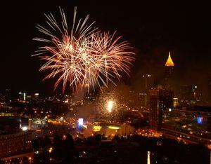 Fourth of July Fireworks in Atlanta