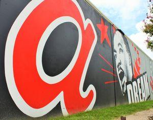 Atlanta Mural in Castleberry Hill