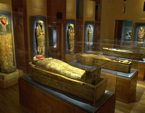 Mummies exhibition at the Michael C. Carlos Museum