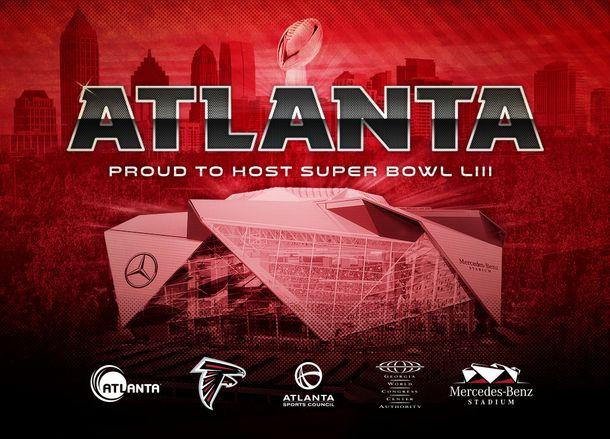Atlanta awarded Super Bowl LIII in 2019