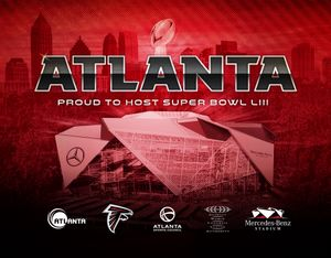Atlanta awarded Super Bowl LIII in 2019