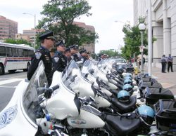 Police and Motorcycles