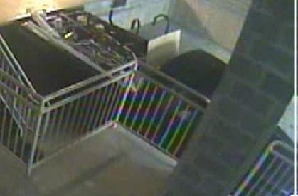 Patio Furniture Larceny Suspect's Car