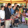 Fairlington ribbon cutting 2013